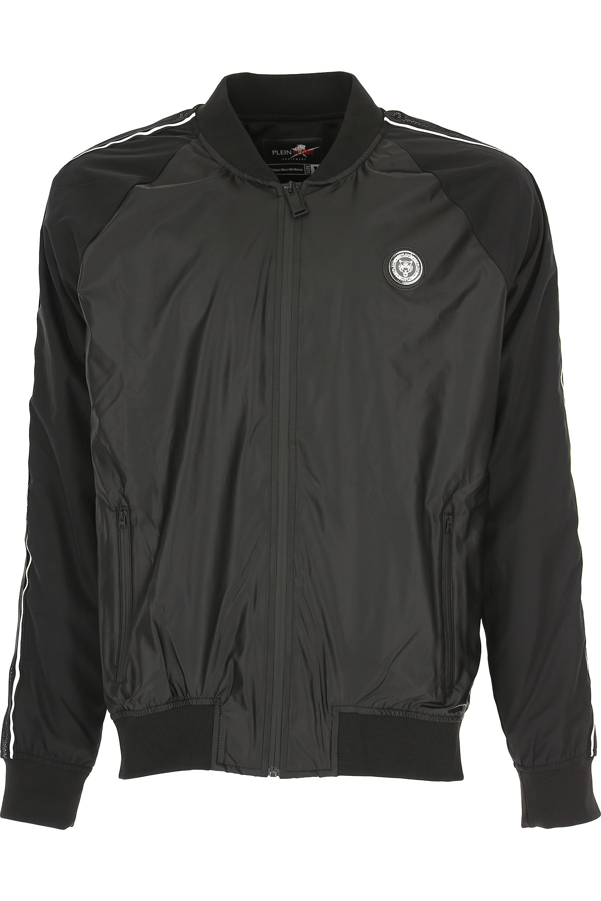 Philipp Plein Jacket for Men On Sale, Black, polyester, 2019, XL XXL