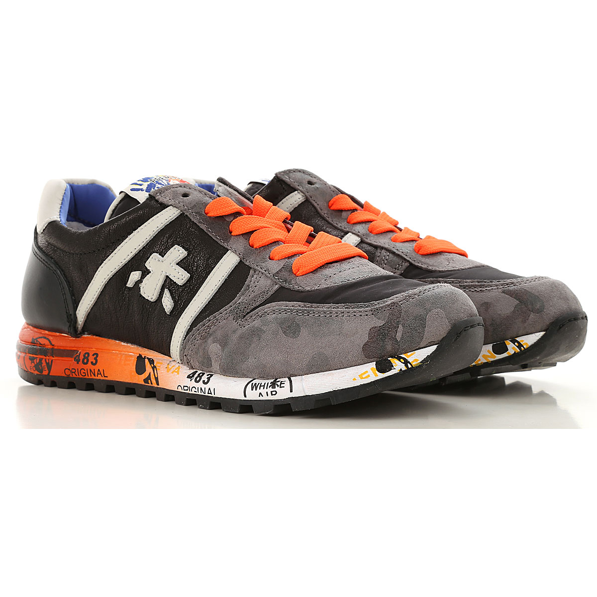 Image of Premiata Kids Shoes for Boys, Black, Leather, 2017, 32 33 36 37 38
