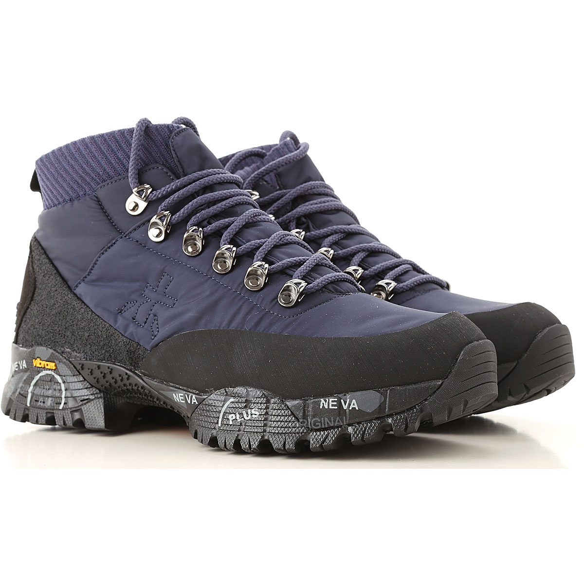 Premiata Boots for Men, Booties, Blue, Leather, 2019, 10 10.5 8 9