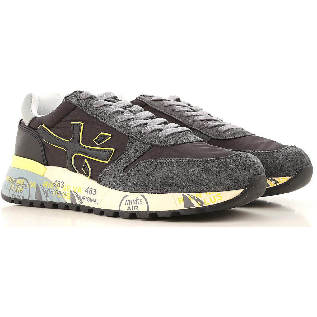 Premiata Sneakers for Men, Black, Leather, 2019, 10 10.5 7.5 8 9