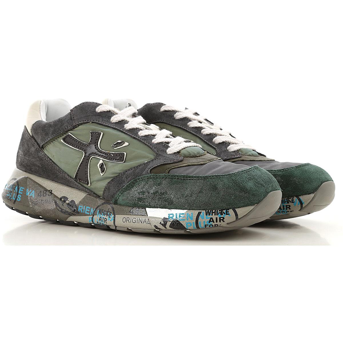 Premiata Mens Shoes, Nylon, 2019, 10.5 12 7.5 9