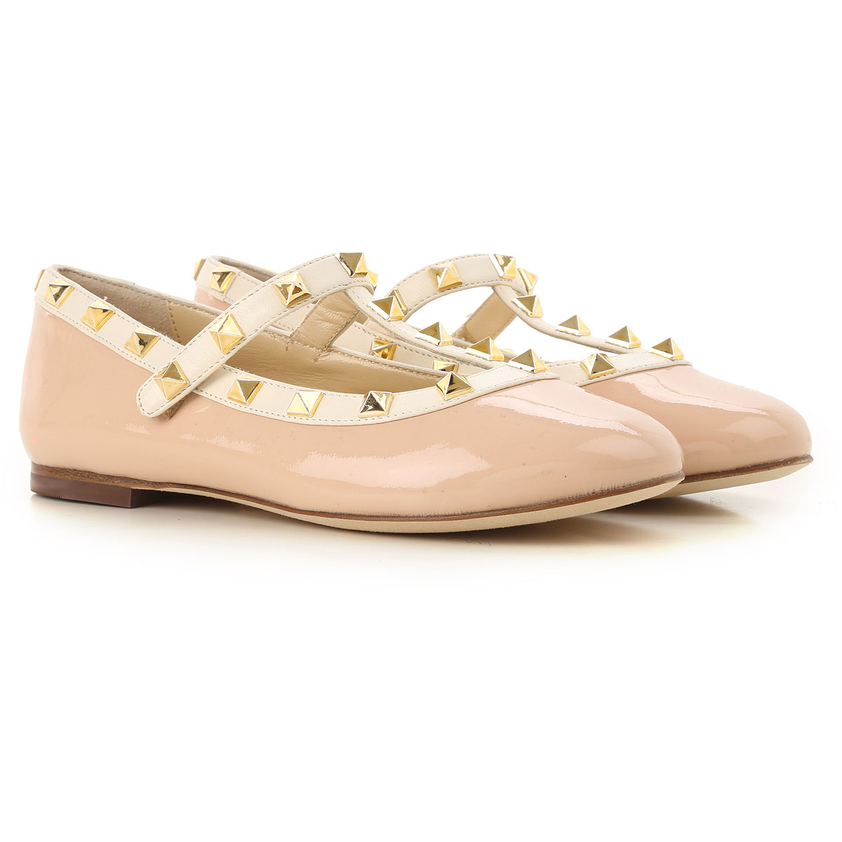 Image of Prosperine Kids Shoes for Girls, Dusty Blush, Leather, 2017, 24 25 26 27 28 29 30 31 32 33 34 35