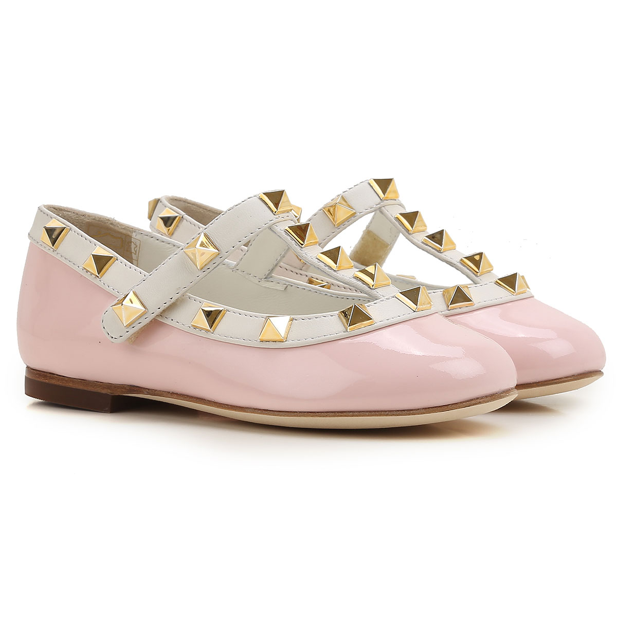 Image of Prosperine Kids Shoes for Girls, Pink, Patent Leather, 2017, 24 25 26 28 29 30 31 32 33 34 35
