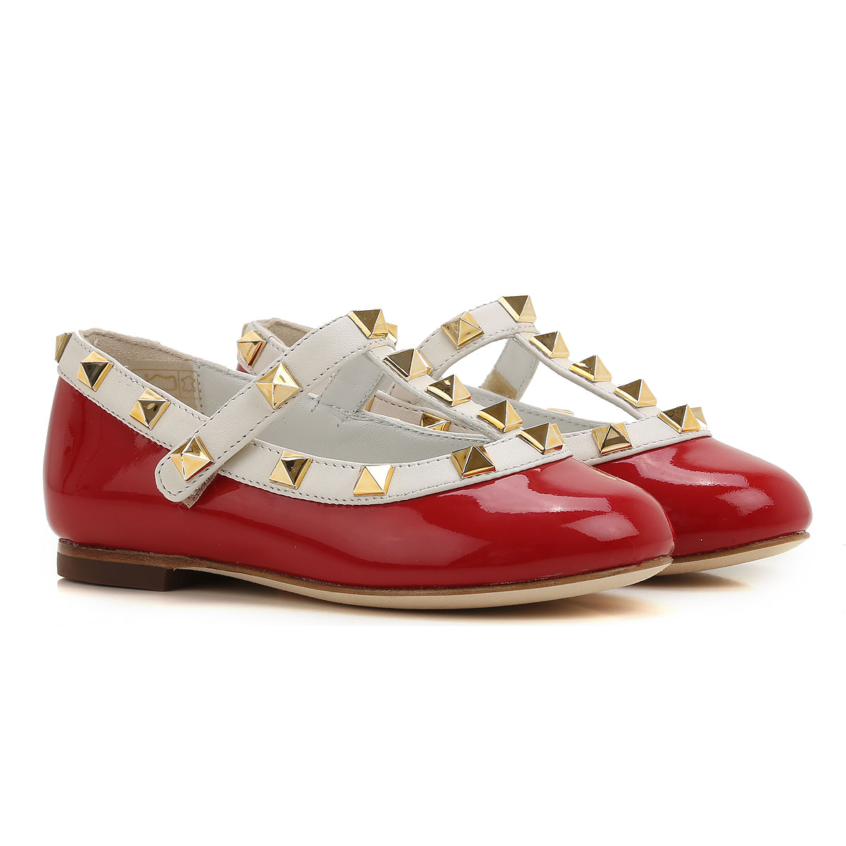 Image of Prosperine Kids Shoes for Girls, Red, Patent Leather, 2017, 24 25 27 28 29 30 31 32 33 34 35