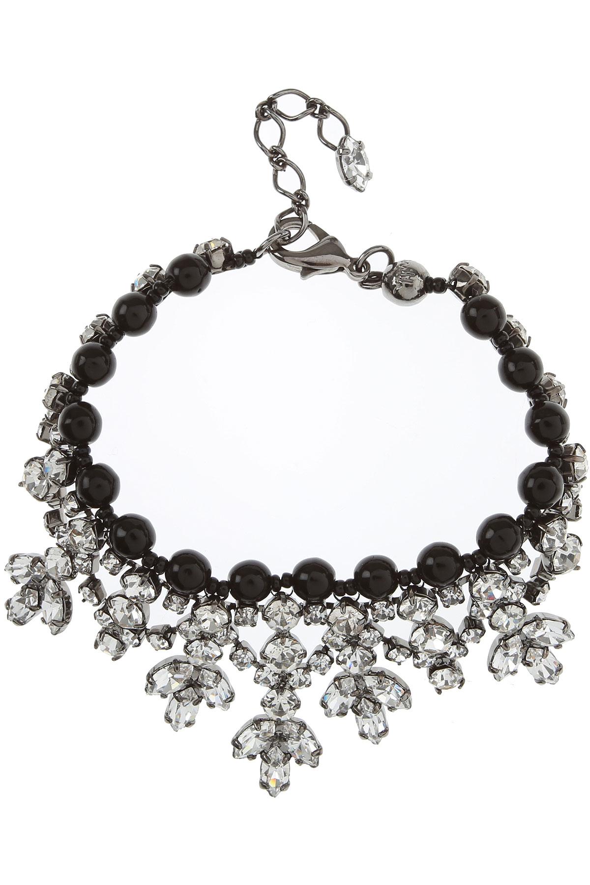 Paul Smith Bracelet for Women On Sale, Black, Glass, 2019