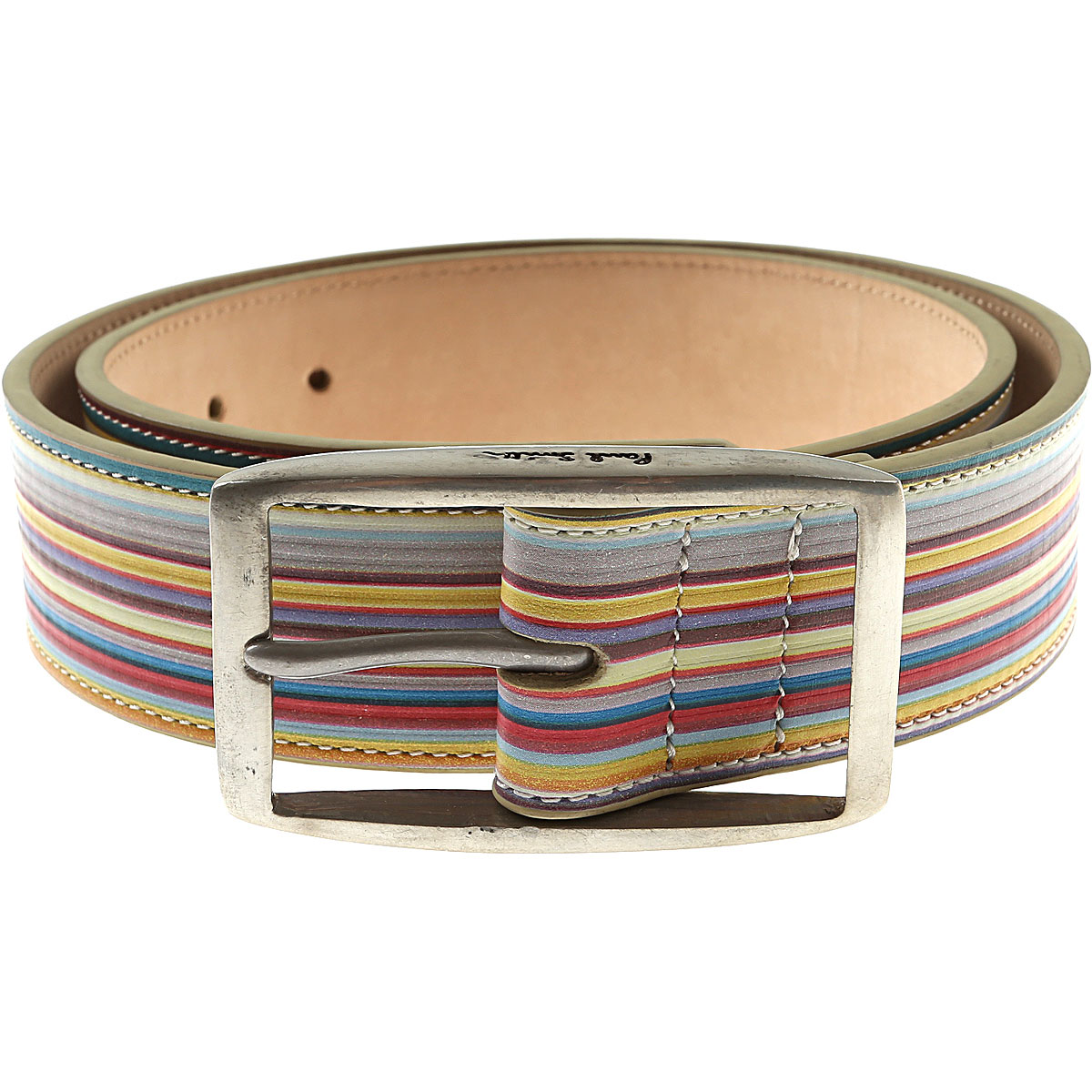 Paul Smith Mens Belts, Multicolor, Leather, 2017, 32 34 42