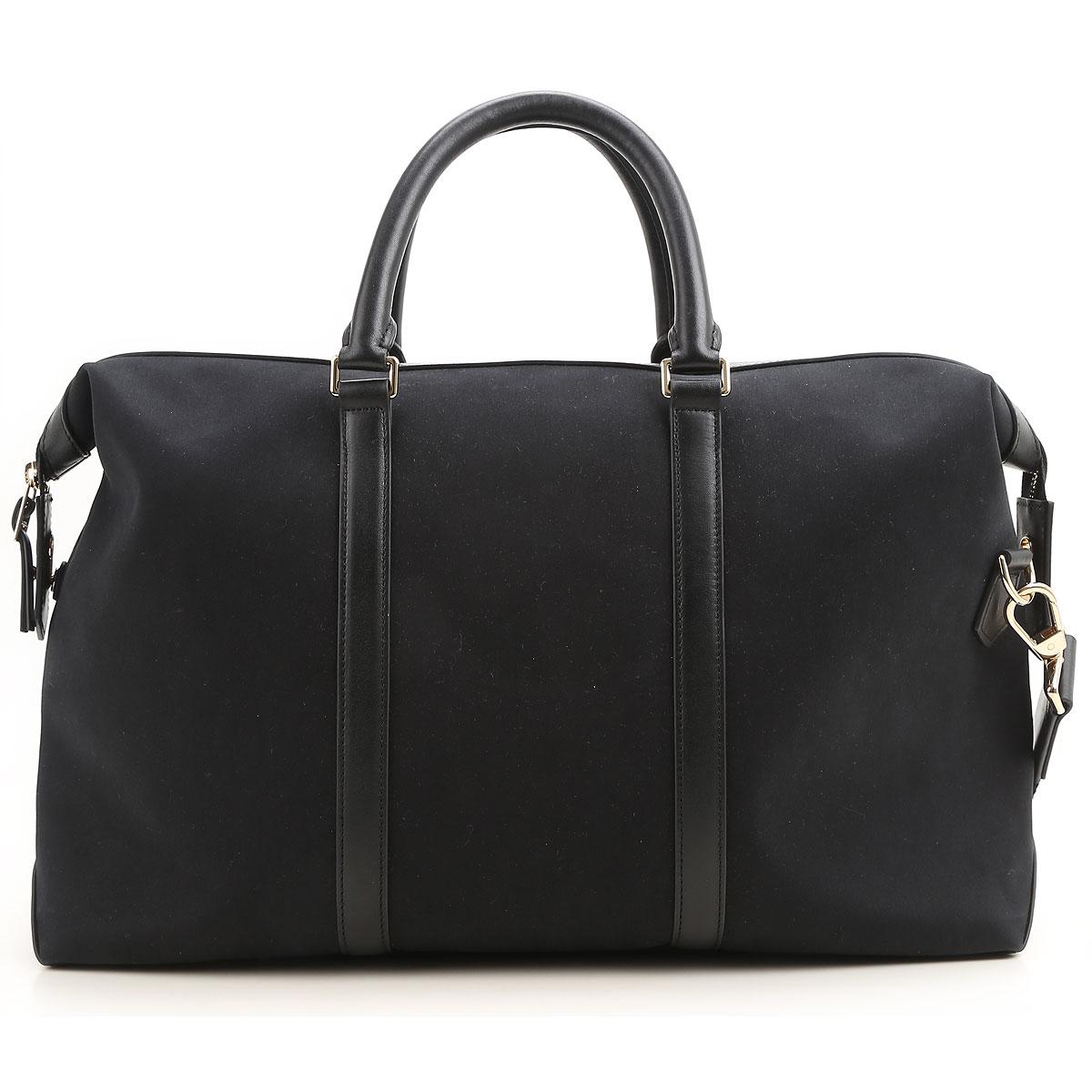 Paul Smith Messenger Bag for Men On Sale, Black, Canvas, 2019