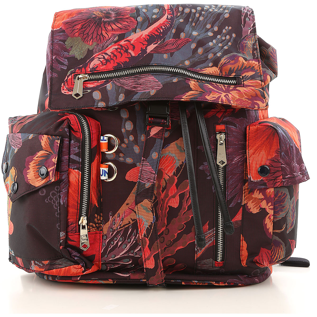 Image of Paul Smith Backpack for Men, Multicolor, Coated Canvas, 2017