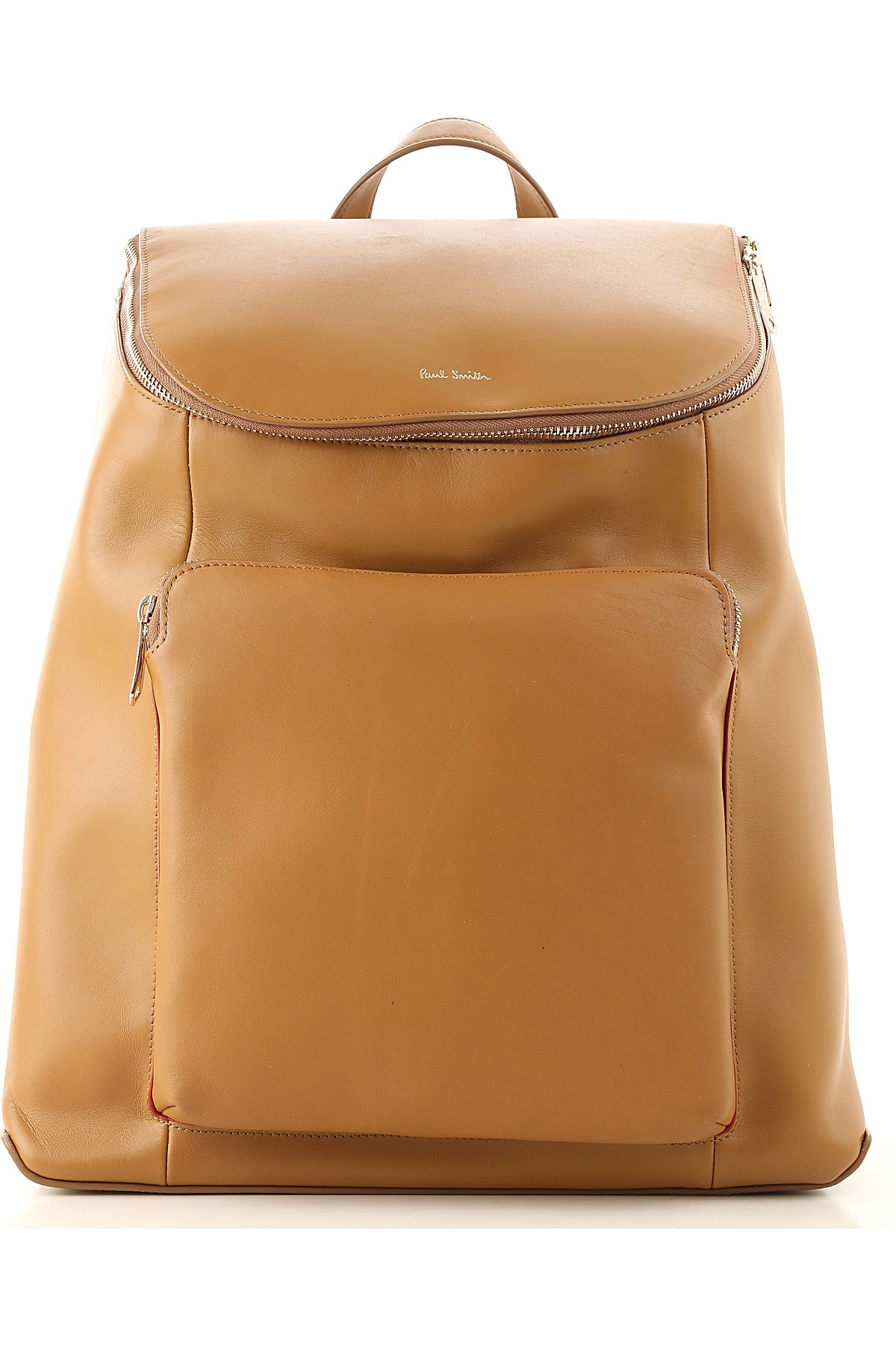 Paul Smith Backpack for Men On Sale, Beige, Leather, 2019