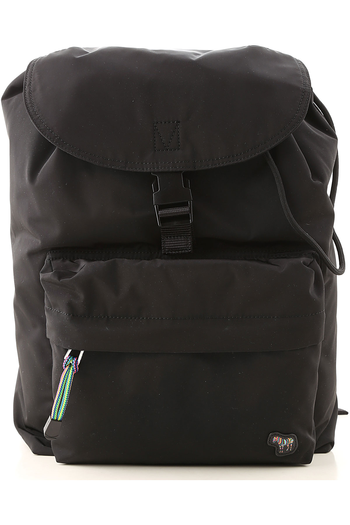 Paul Smith Backpack for Men On Sale, Black, polyestere, 2019