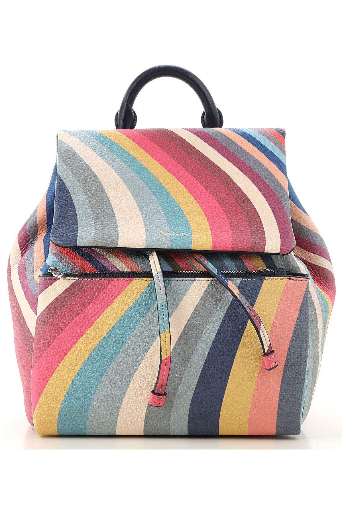Paul Smith Backpack for Women On Sale, Multicolor, Leather, 2019