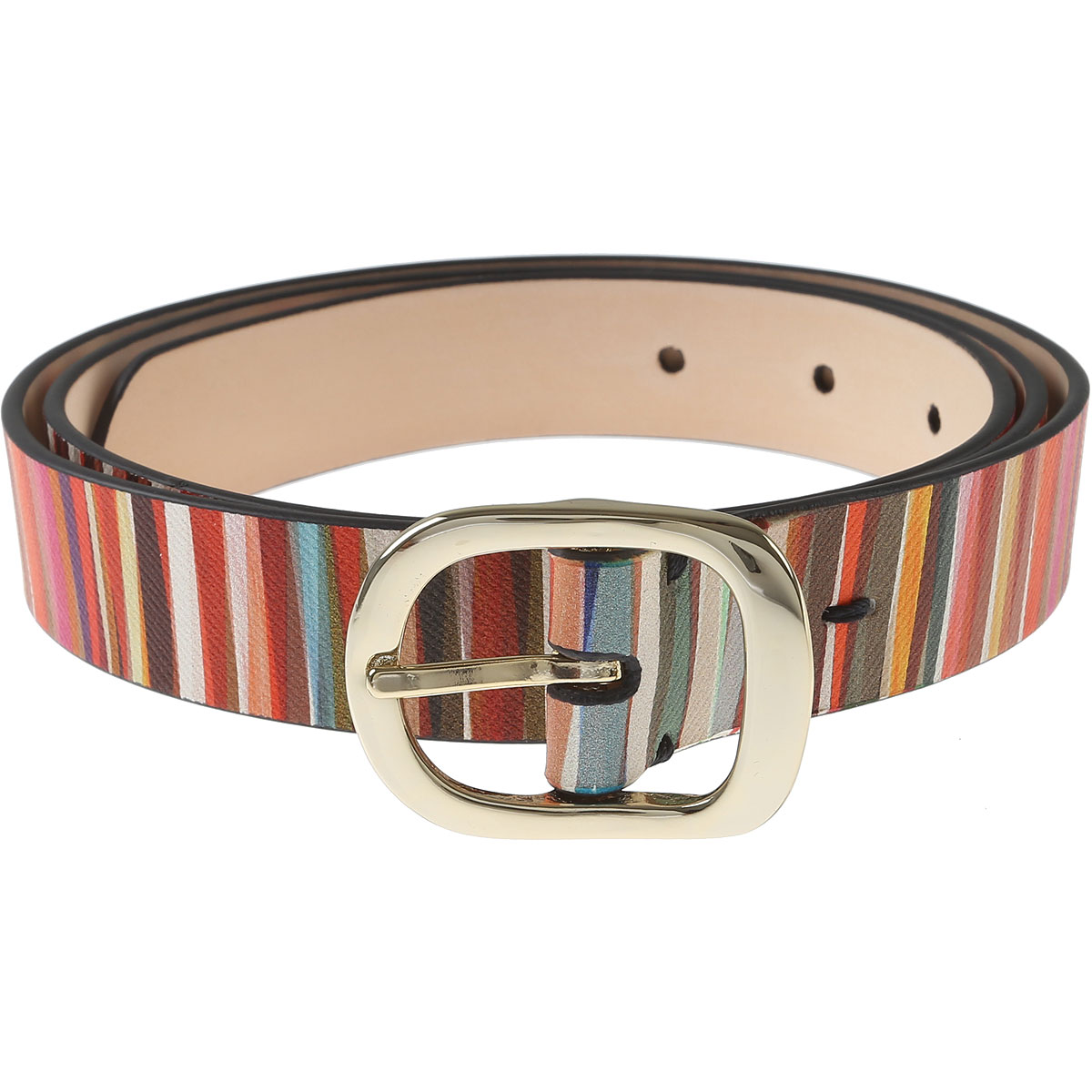 Paul Smith Womens Belts, Multicolor, Leather, 2017, 34 inches - 85 cm 38 inches - 95 cm