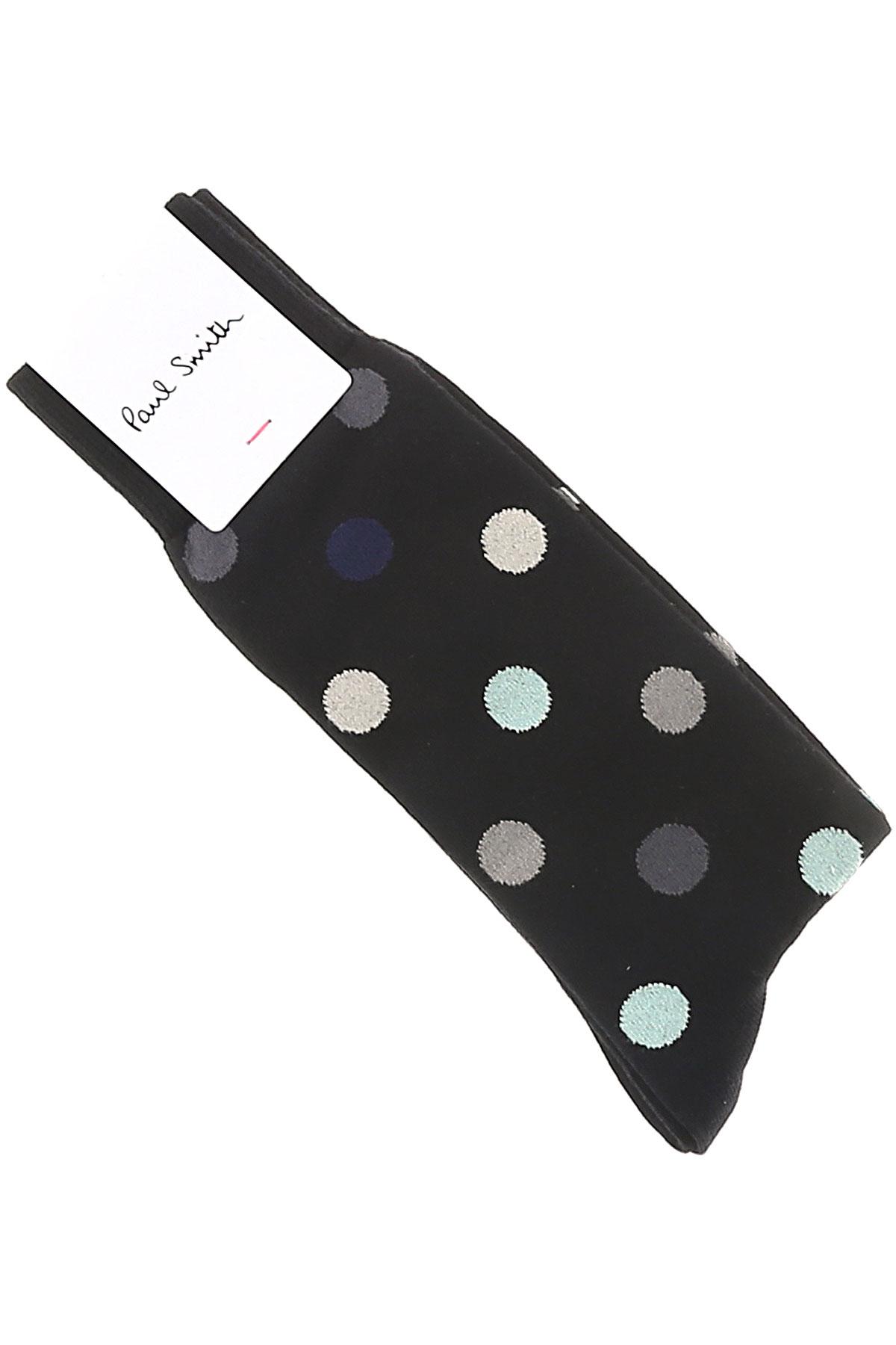 Image of Paul Smith Socks Socks for Men, Black, Cotton, 2017