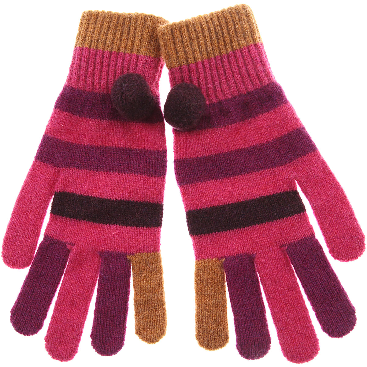 Image of Paul Smith Gloves for Women, Pink, Wool, 2017