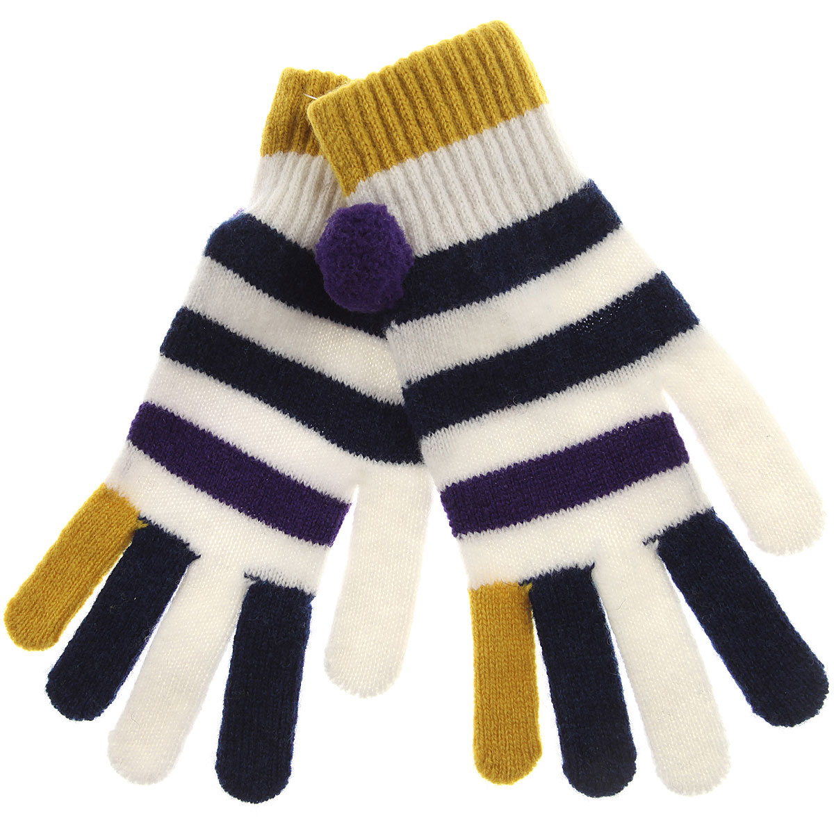 Image of Paul Smith Gloves for Women, Blue, Wool, 2017