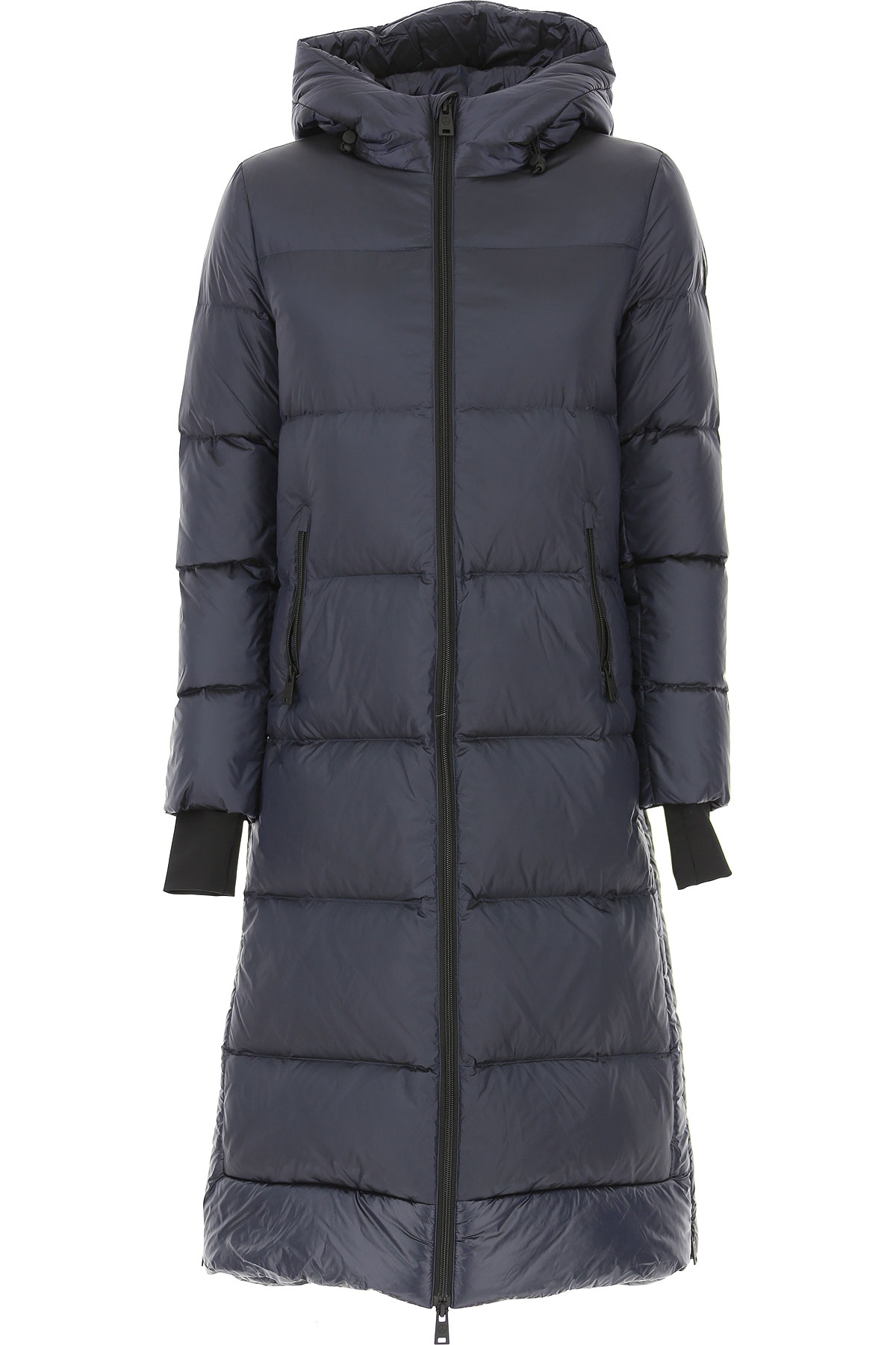 People of Shibuya Down Jacket for Women, Puffer Ski Jacket On Sale, Ink Blue, polyamide, 2019, 4 6