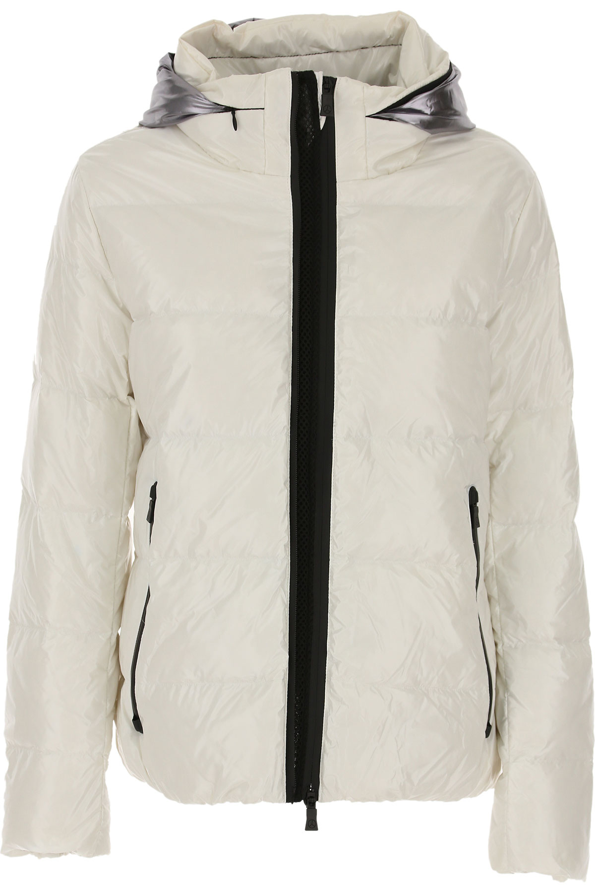 People of Shibuya Down Jacket for Women, Puffer Ski Jacket On Sale, White, polyamide, 2019, 4 6 8