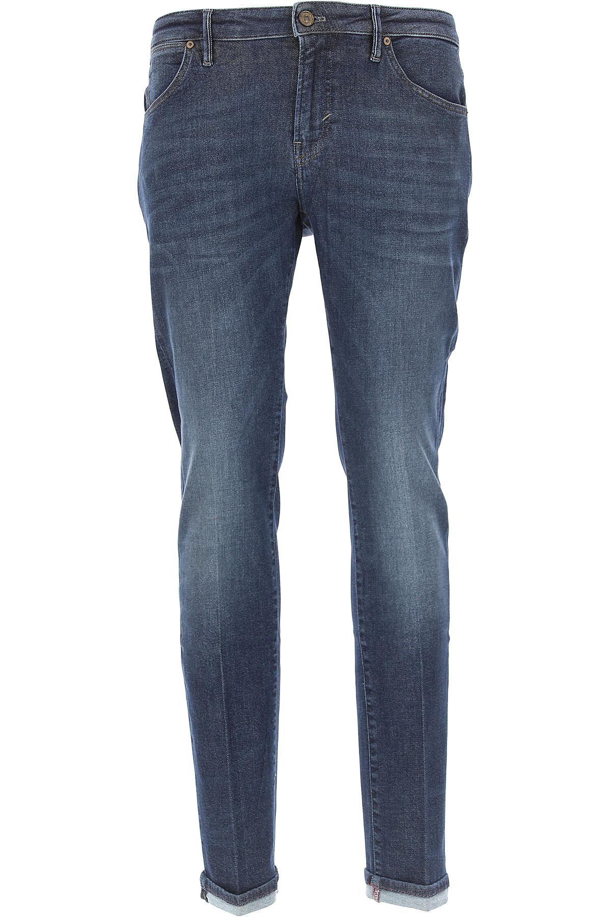 Image of PT05 Jeans, Denim Blue, Cotton, 2017, 30 31 32 33 34 35 36
