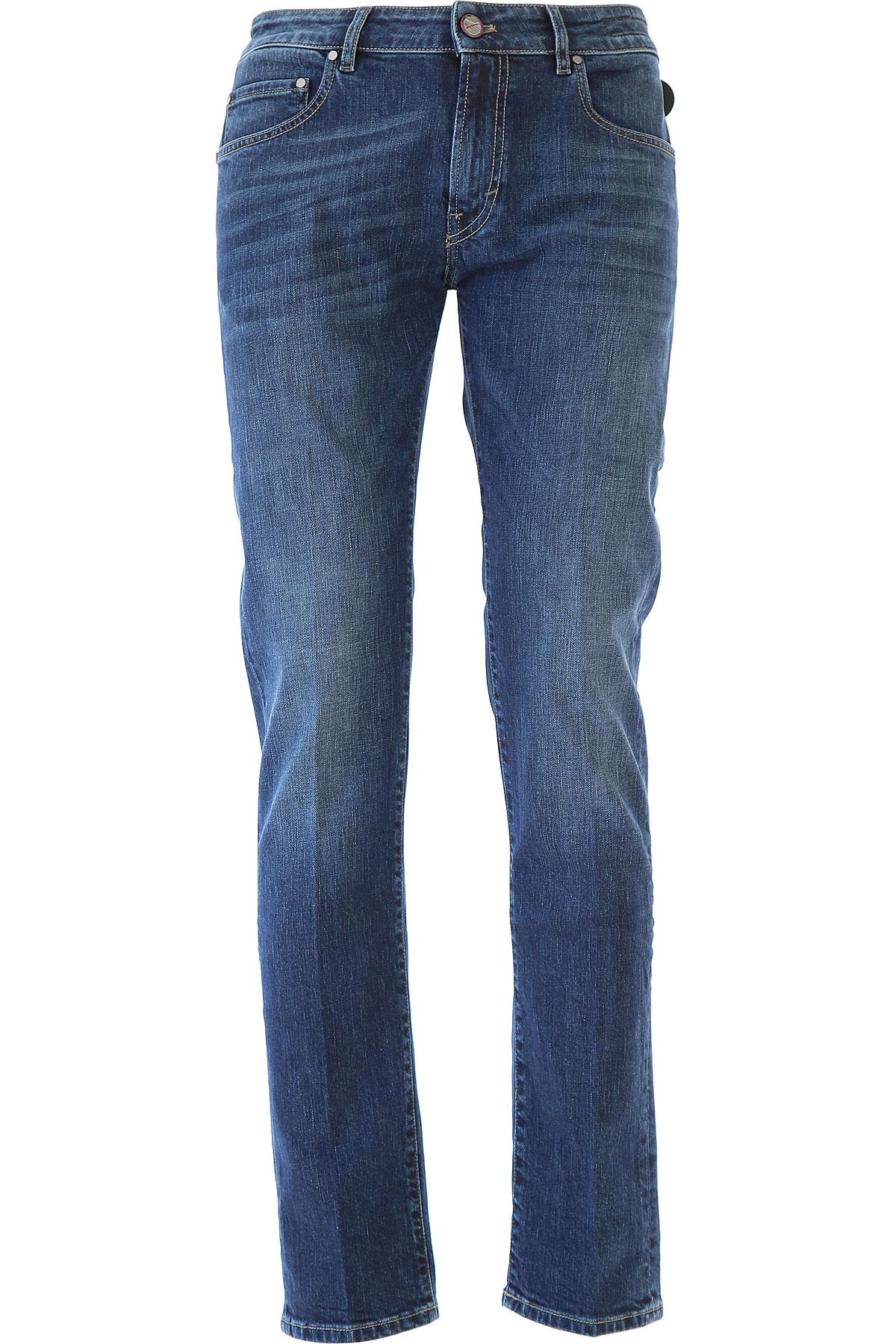 Image of PT05 Jeans, Denim Blue, Cotton, 2017, 31 32 33 34 35 36