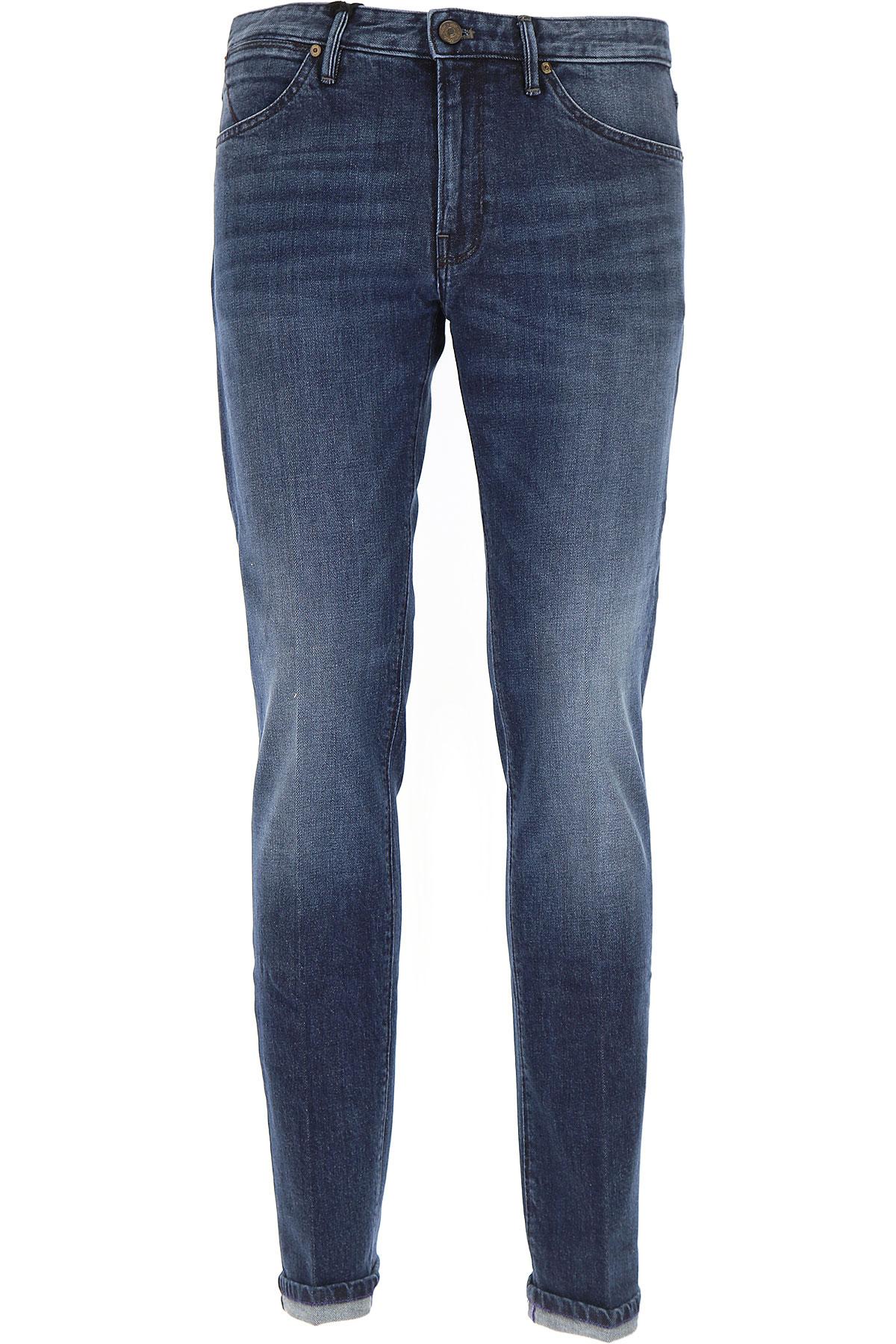 Image of PT05 Jeans, Denim Blue, Cotton, 2017, 30 32 34 36