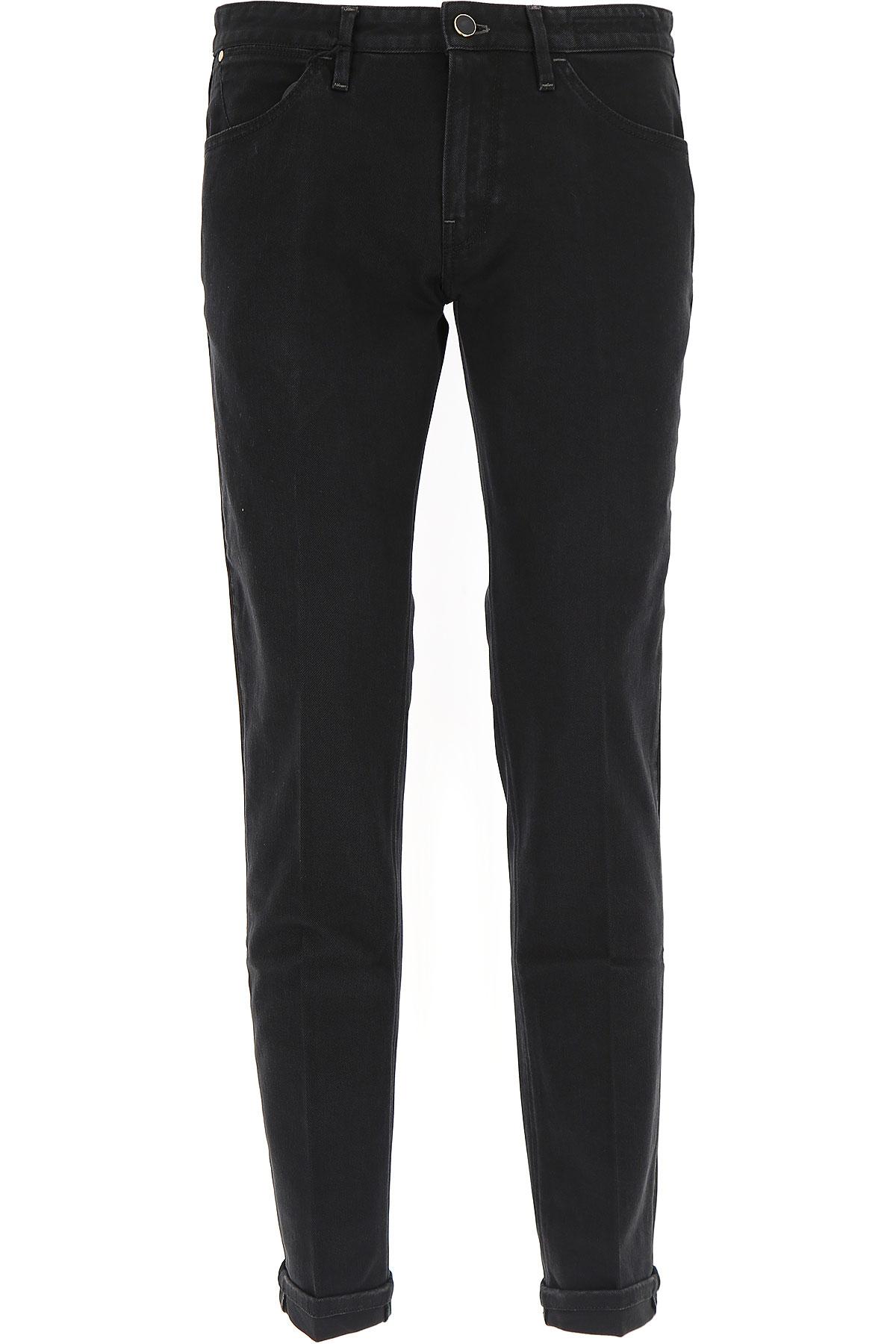 Image of PT05 Jeans, Black, Cotton, 2017, 30 32 34 36