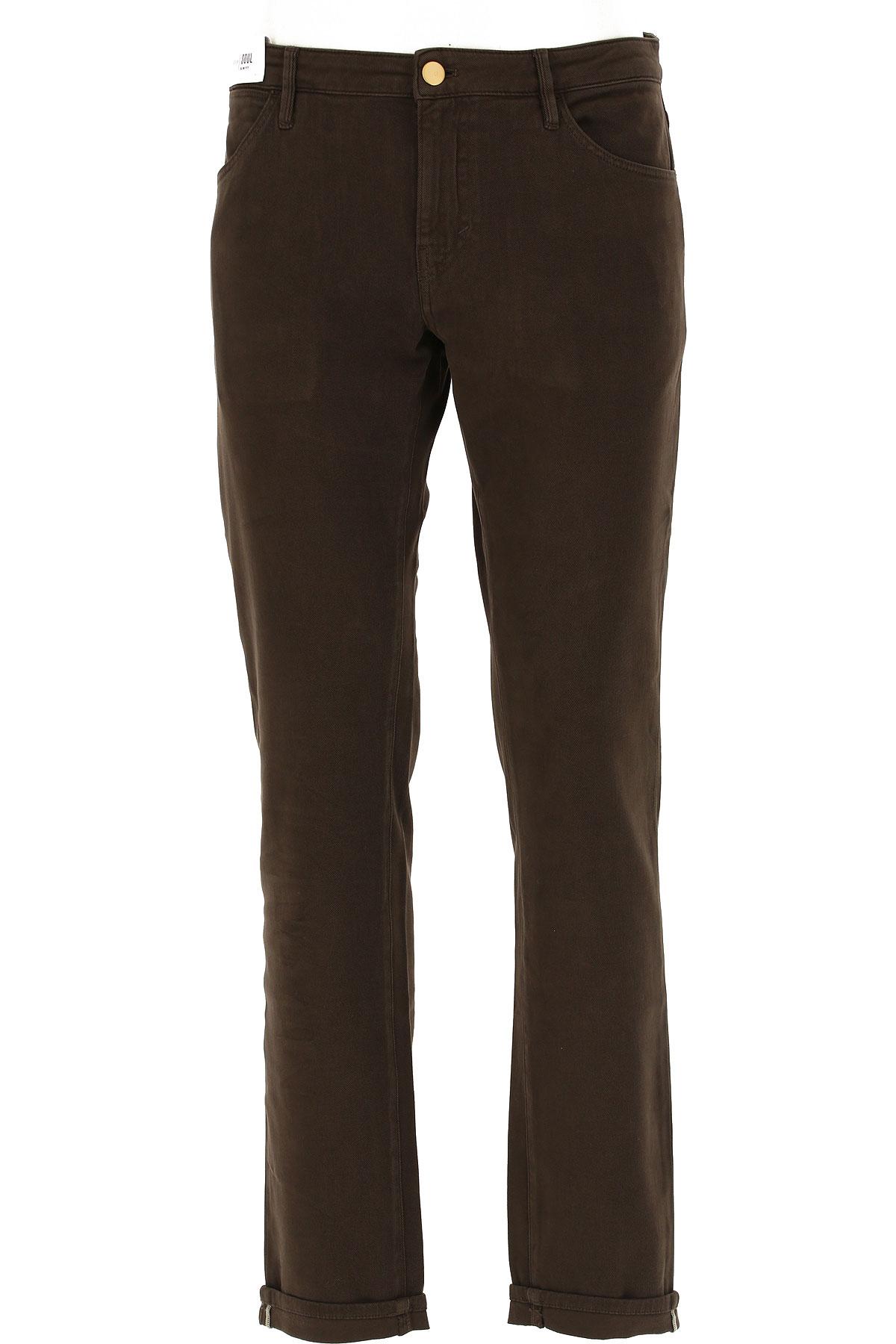 PT05 Pantalon Homme, Marron, Coton, 2019, 48 49 50 52 54