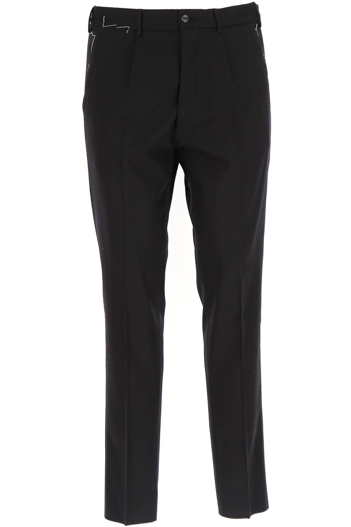 Image of PT Pantaloni Torino Pants for Men, Black, Wool, 2017, 28 30 32 34 36