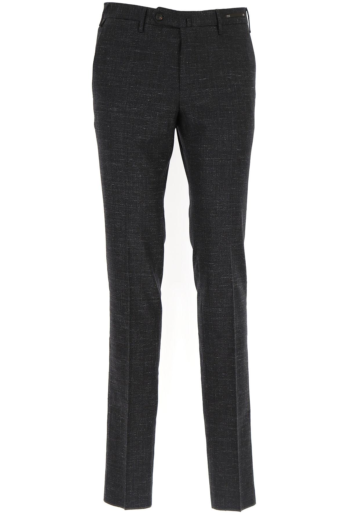 Image of PT01 Pants for Men, antracite, Virgin wool, 2017, 30 31 32 33 34