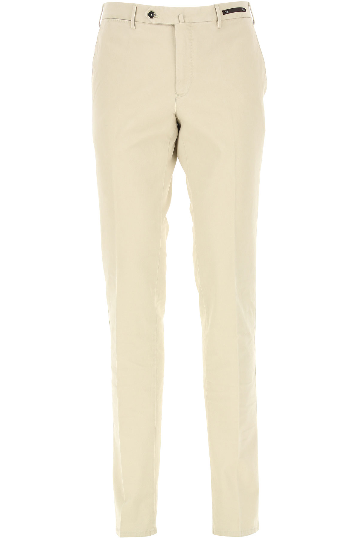 PT01 Pantalon Homme, Beige, Coton, 2019, 46 48 50 52