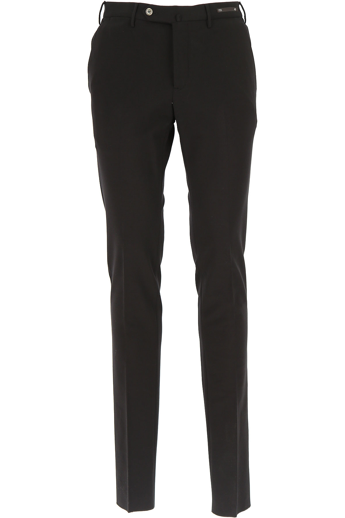 Image of PT01 Pants for Men, Black, Viscose, 2017, 28 30 32 34 36