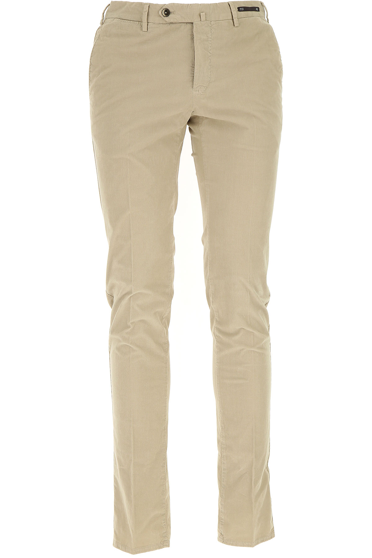 Image of PT01 Pants for Men, Beige, Cotton, 2017, 30 31 32 33