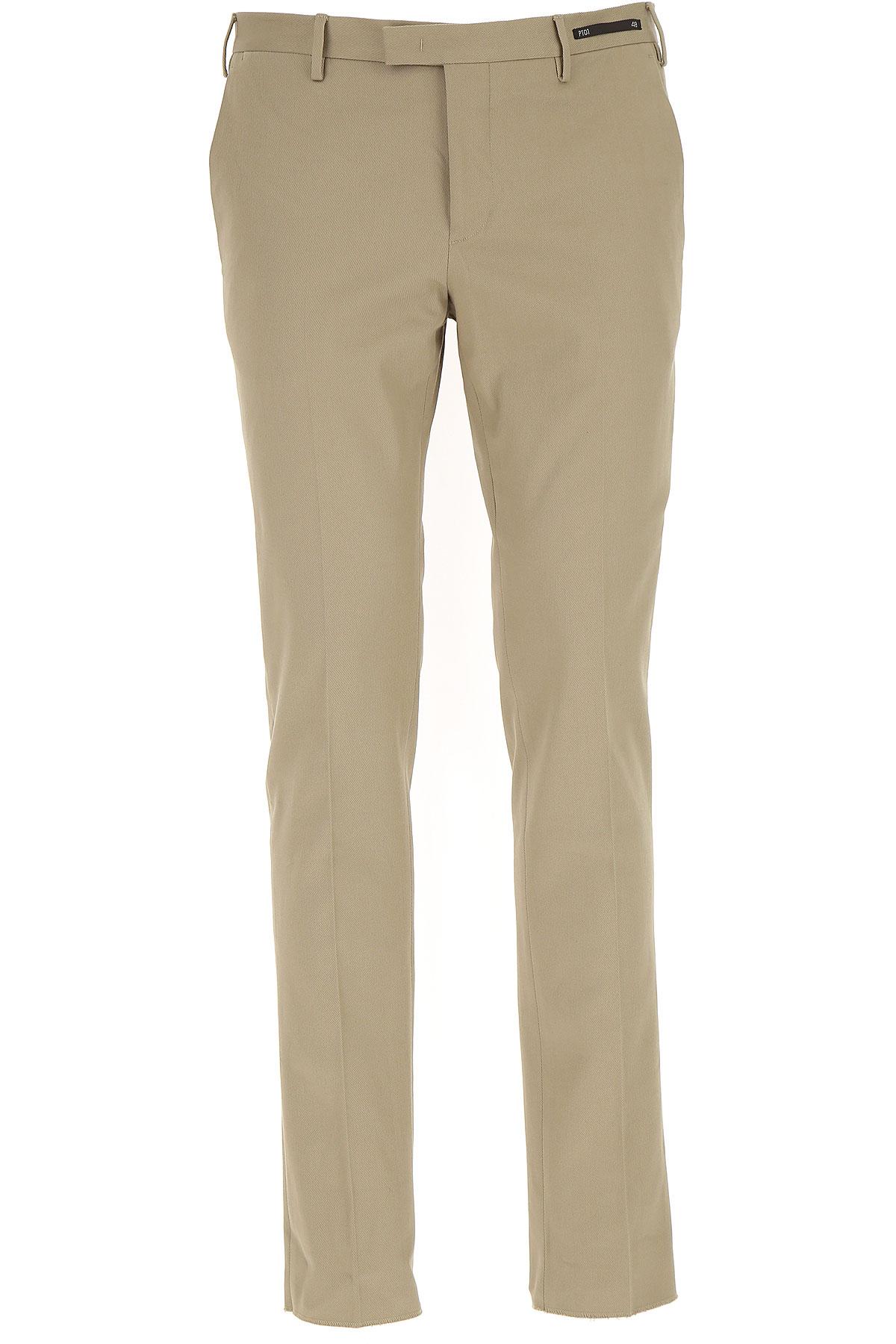 Image of PT01 Pants for Men, Beige, Cotton, 2017, 31 32 33 34