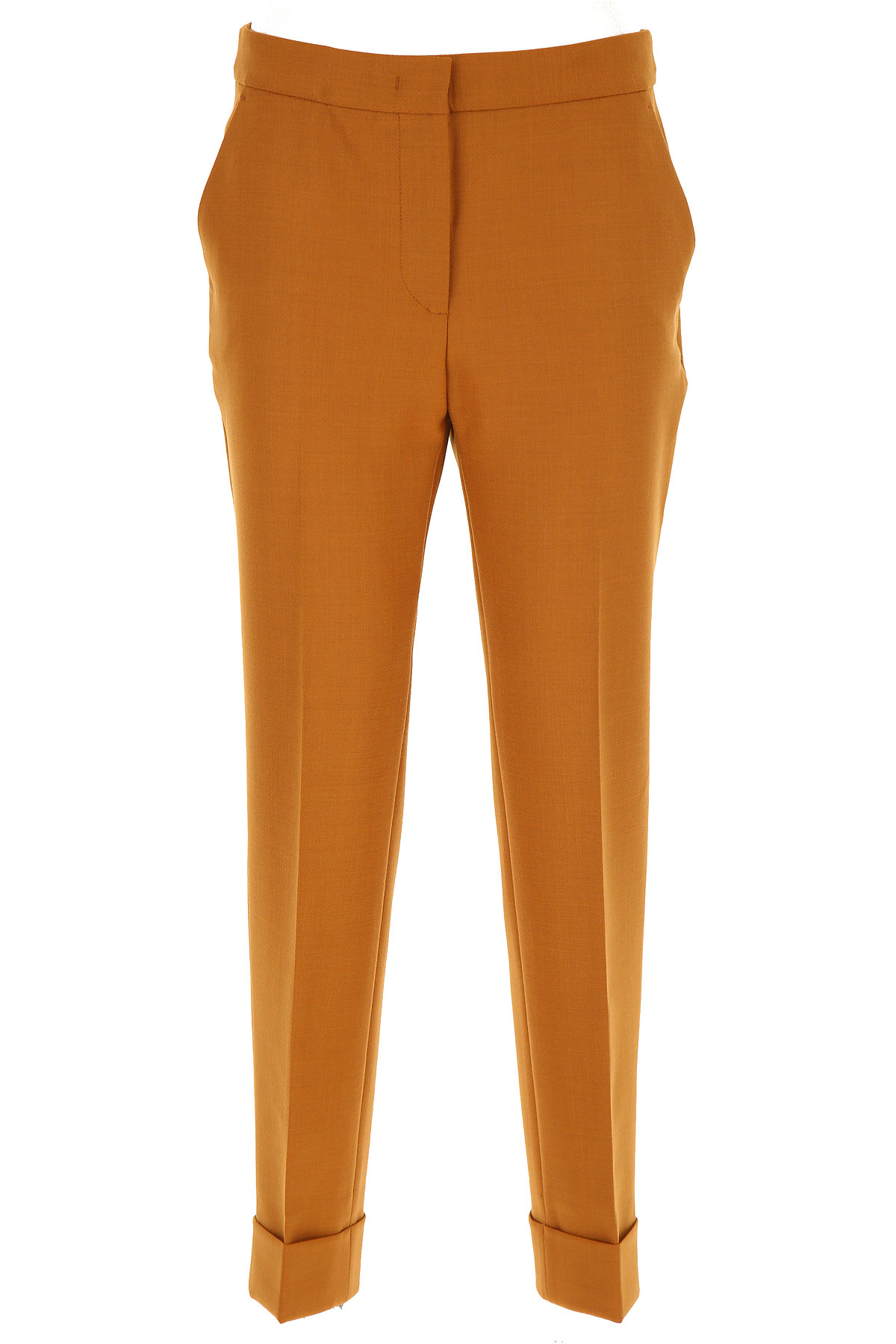 PT01 Pantalon Femme, Orange brique, Polyester, 2019, 42 46