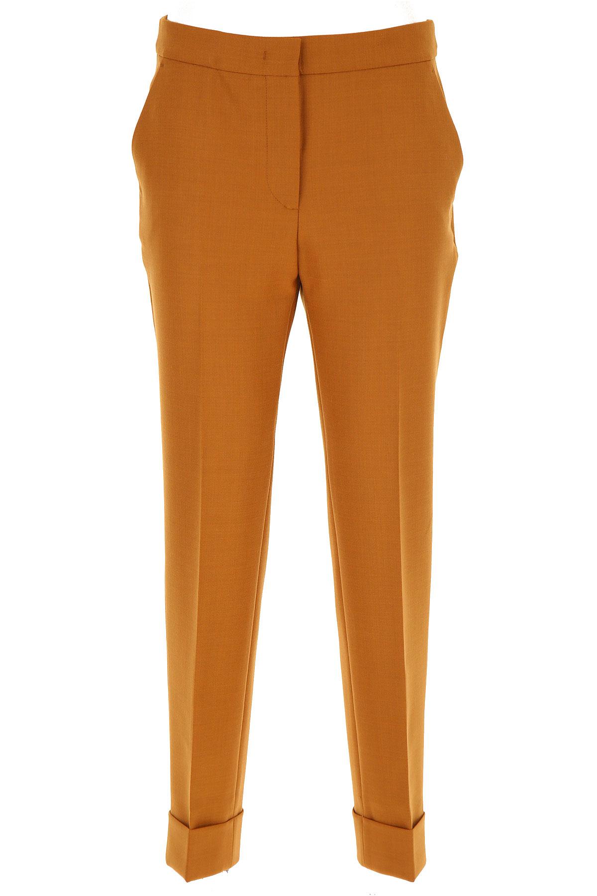 PT01 Pants for Women On Sale, Brick Orange, polyester, 2019, 26 32