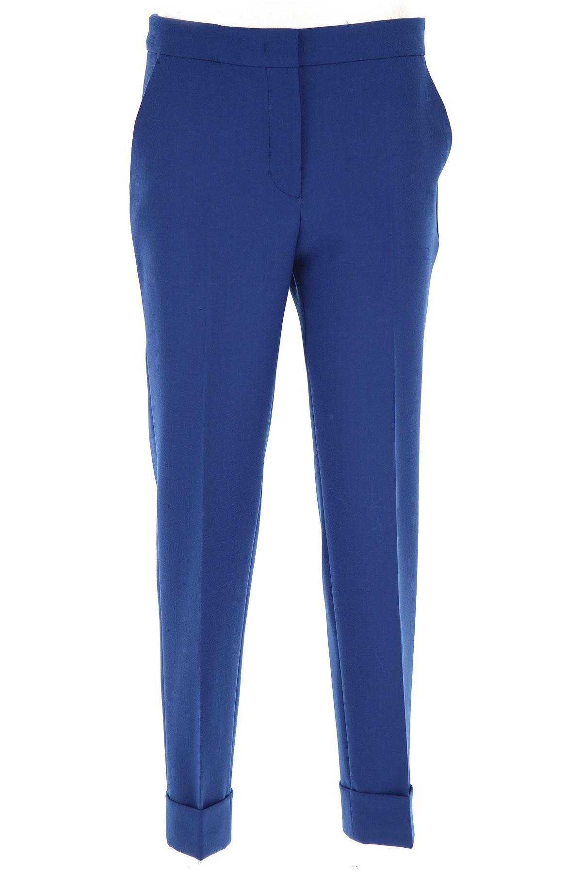 PT01 Pants for Women On Sale, Bluette, polyester, 2019, 26 28 30