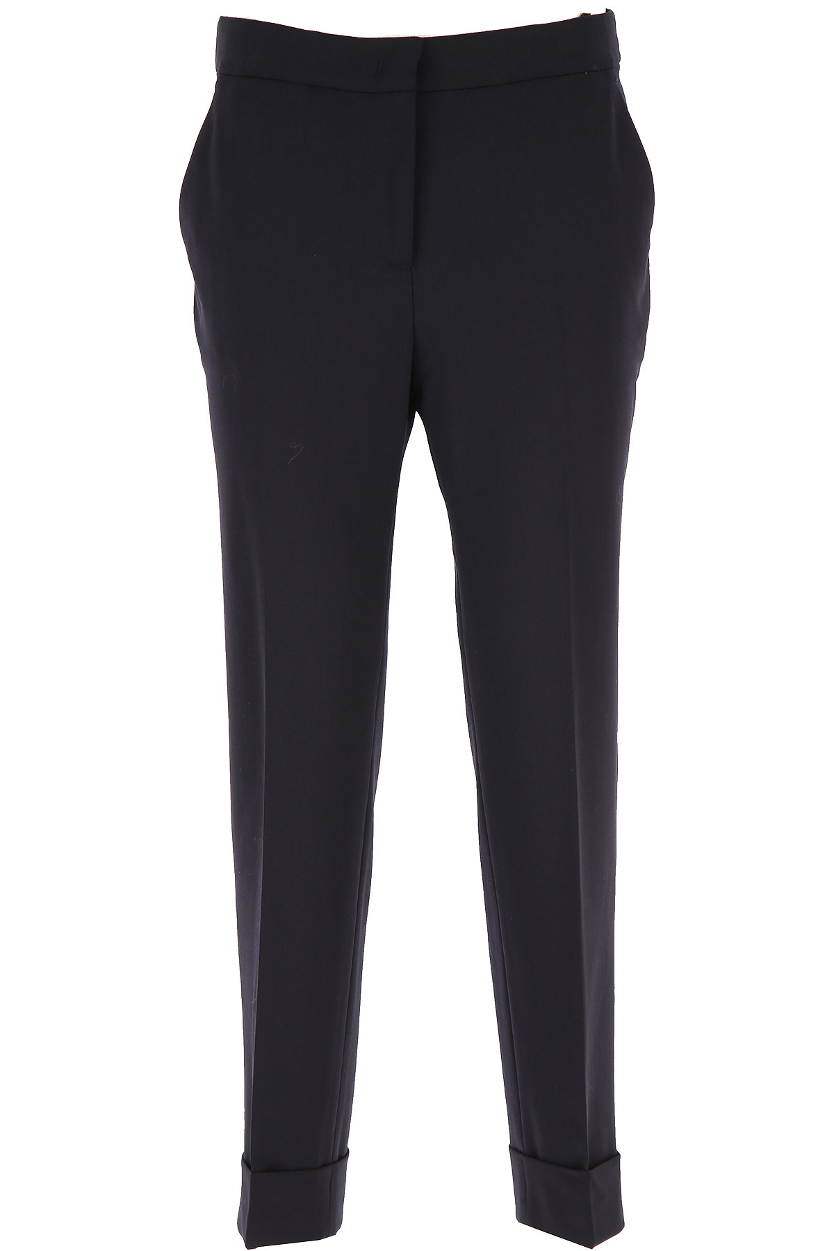 PT01 Pants for Women On Sale, Blue Navy, polyester, 2019, 30 34