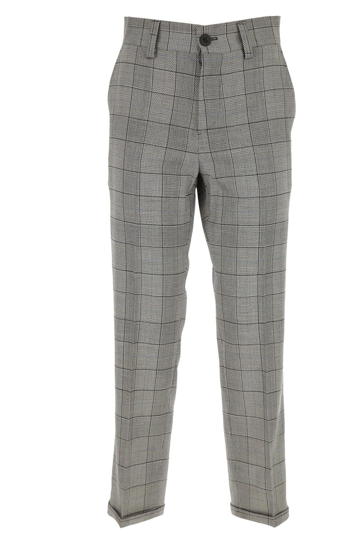 PT01 Pants for Women On Sale, White, Virgin wool, 2019, 26 32