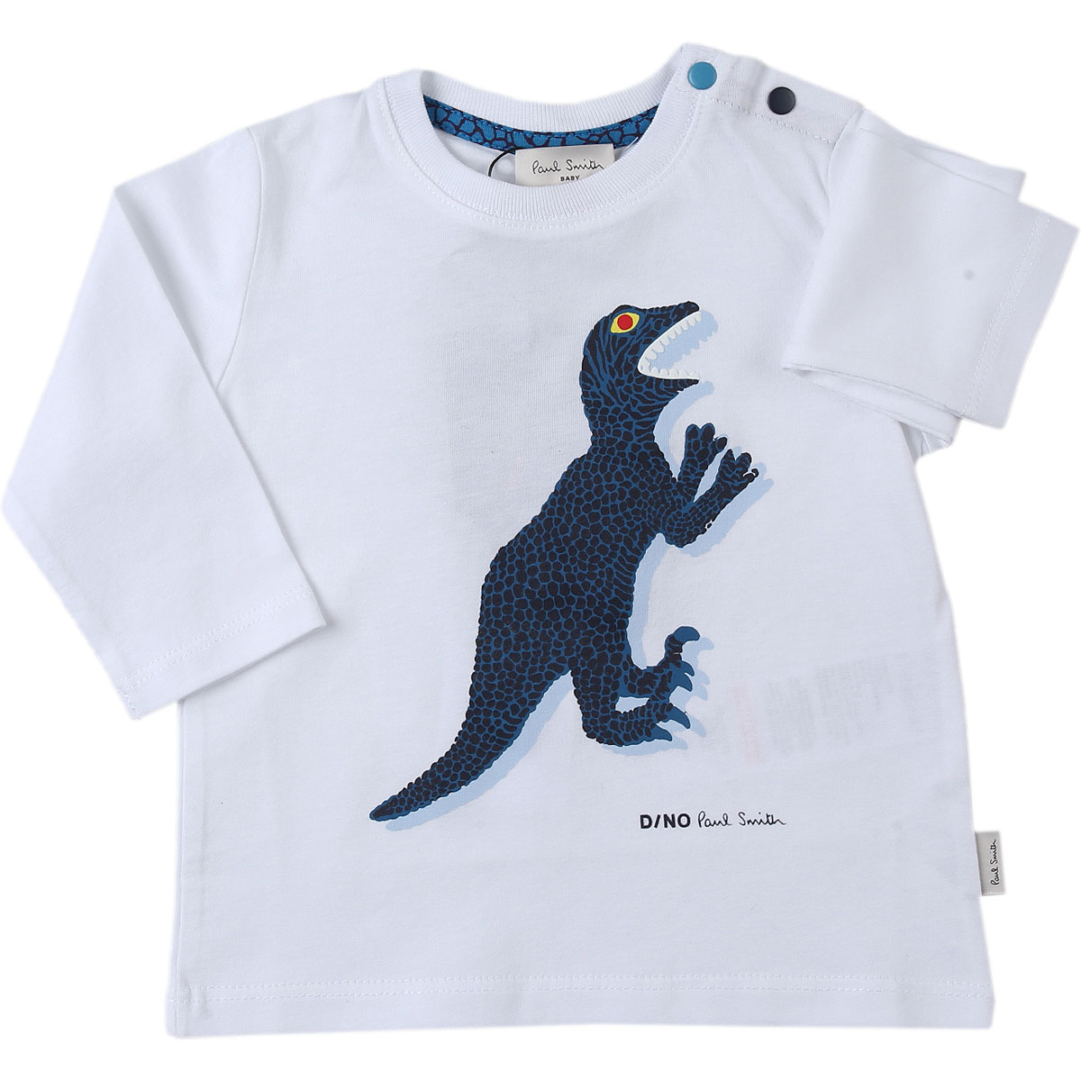 Paul Smith Baby T-Shirt for Boys On Sale, White, Cotton, 2019, 12 M 18M 2Y 3Y 6M 9M