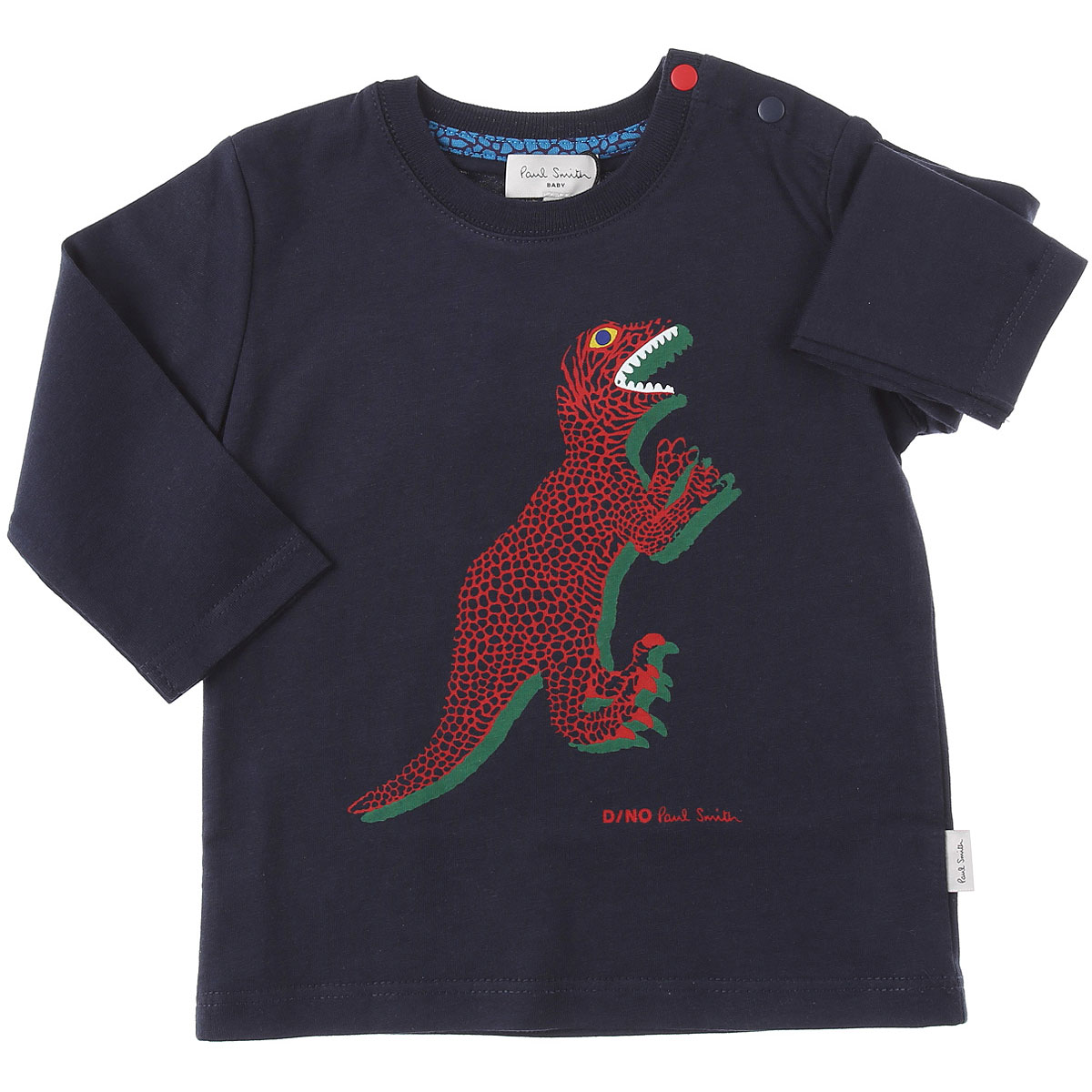 Paul Smith Baby T-Shirt for Boys On Sale, navy, Cotton, 2019, 12 M 18M 2Y 3Y 6M 9M