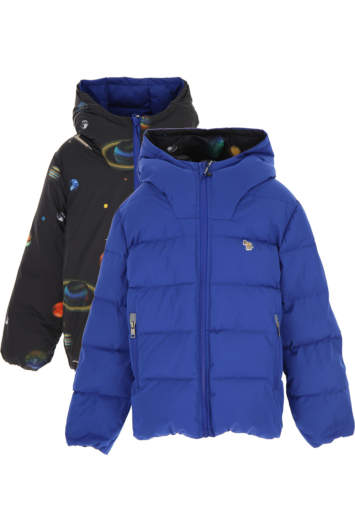 Paul Smith Boys Down Jacket for Kids, Puffer Ski Jacket On Sale, Black, polyester, 2019, 10Y 14Y