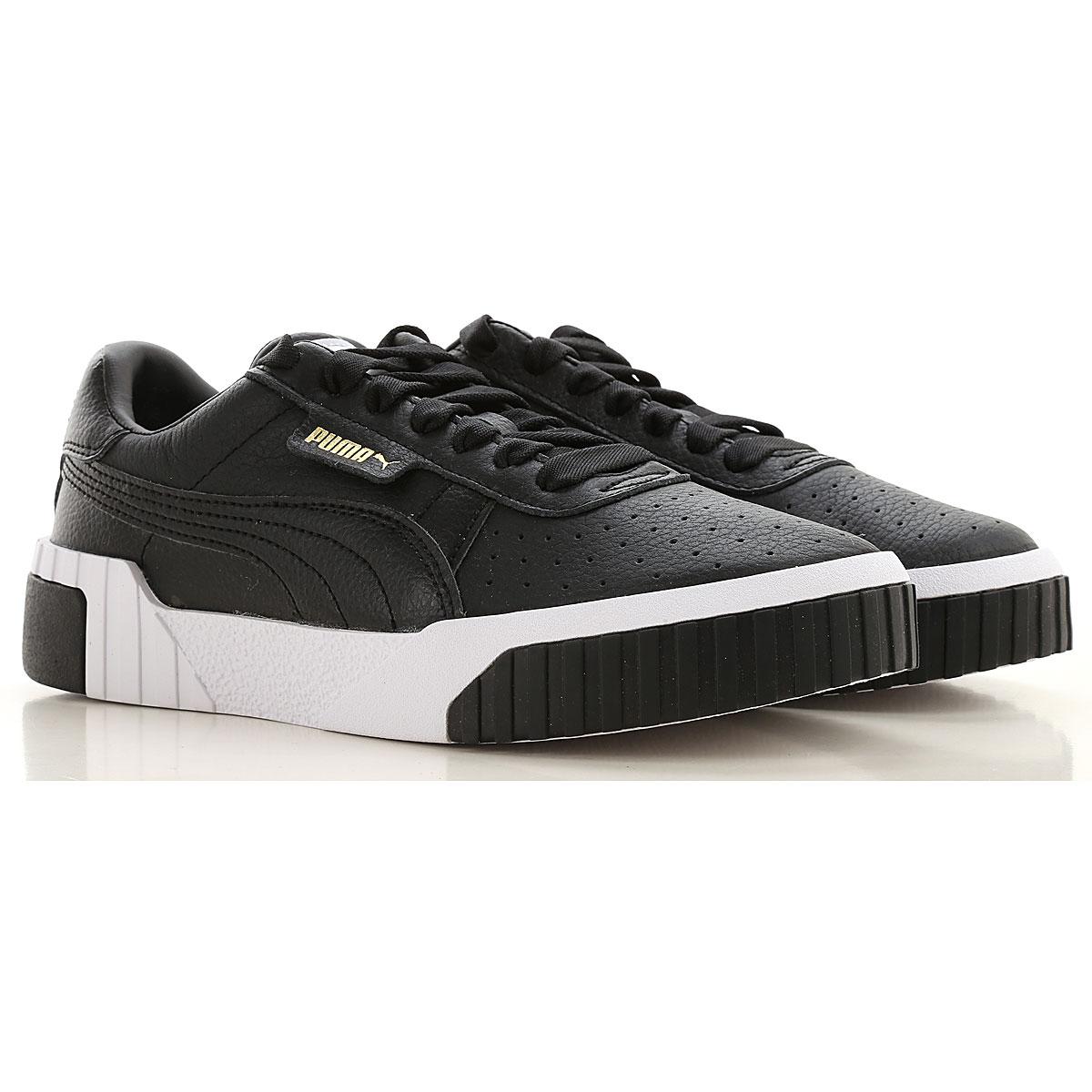 Puma Sneakers for Women On Sale in Outlet, Black, Eco Leather, 2019, US 6 5 - UK 4 - EU 37 - JP 23 US 7 - UK 4 5 - EU 37 5 - JP 23 5