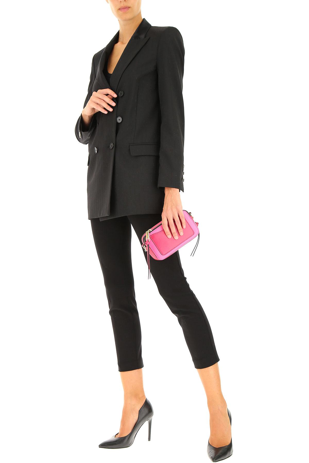 Pinko Blazer for Women On Sale, Black, polyestere, 2019, 2 4 6 8