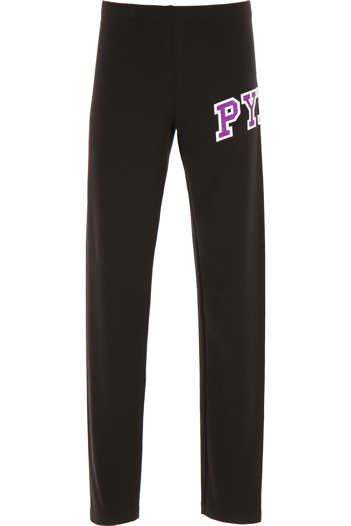 Pyrex Kids Pants for Girls On Sale, Black, Cotton, 2019, M S XL XS XXL