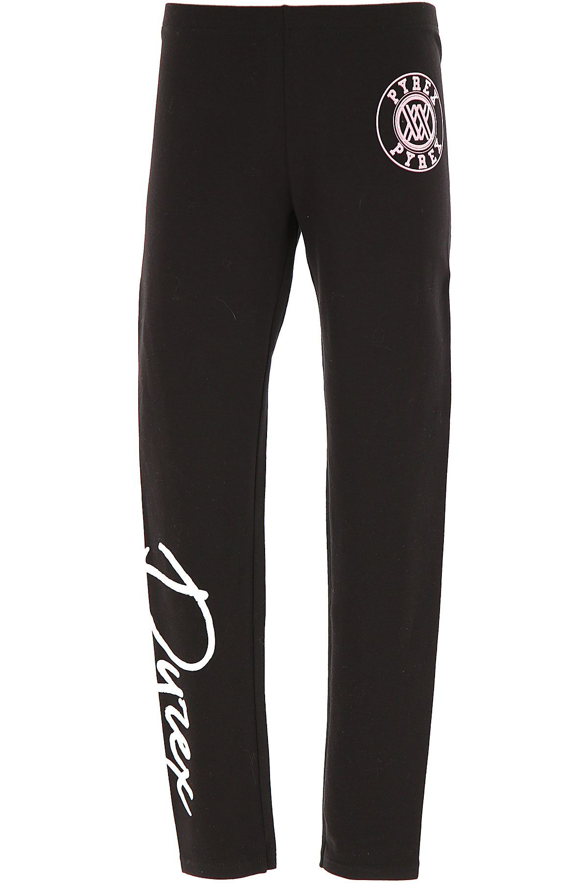 Pyrex Kids Pants for Girls On Sale, Black, Cotton, 2019, M XL XXL
