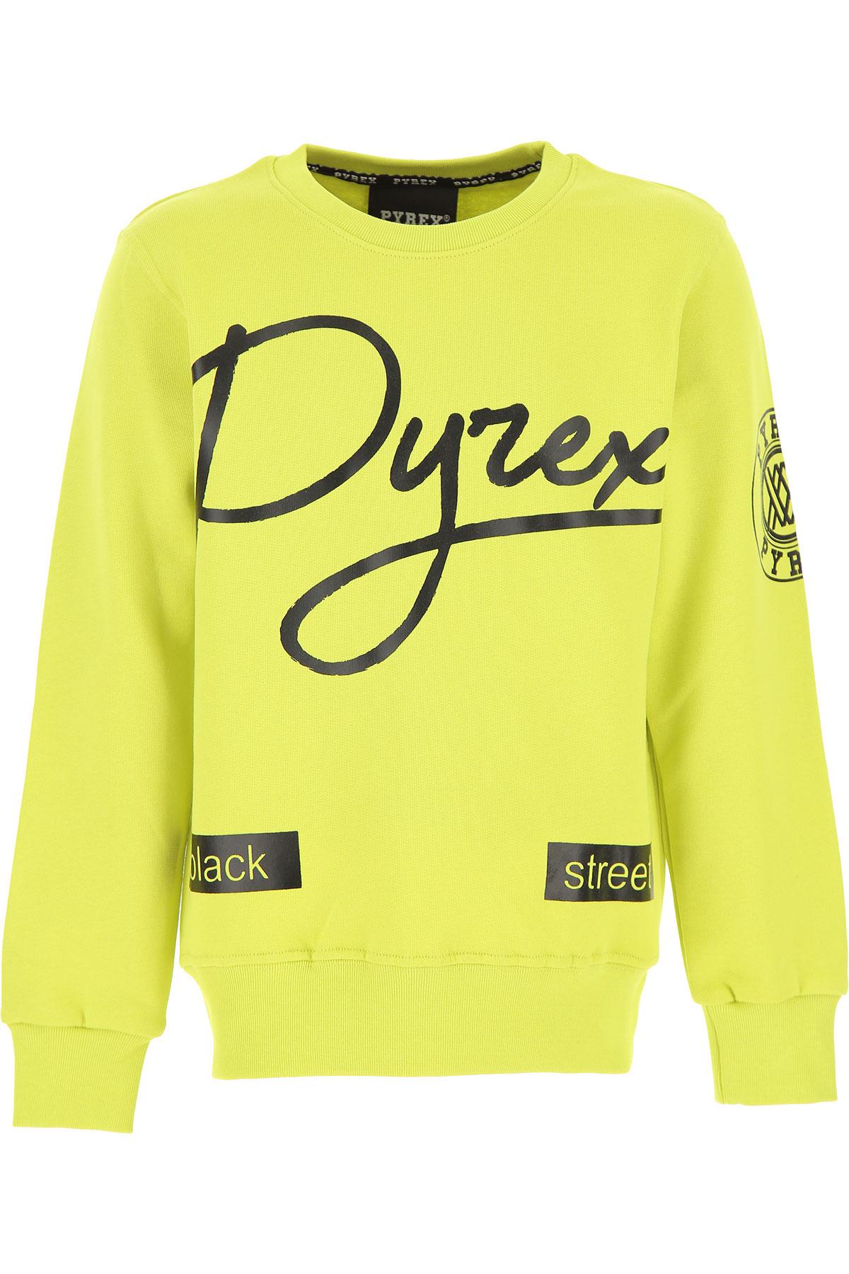 Pyrex Kids Sweatshirts & Hoodies for Boys On Sale, Lime, Cotton, 2019, M S XL XS XXL (16 Y)