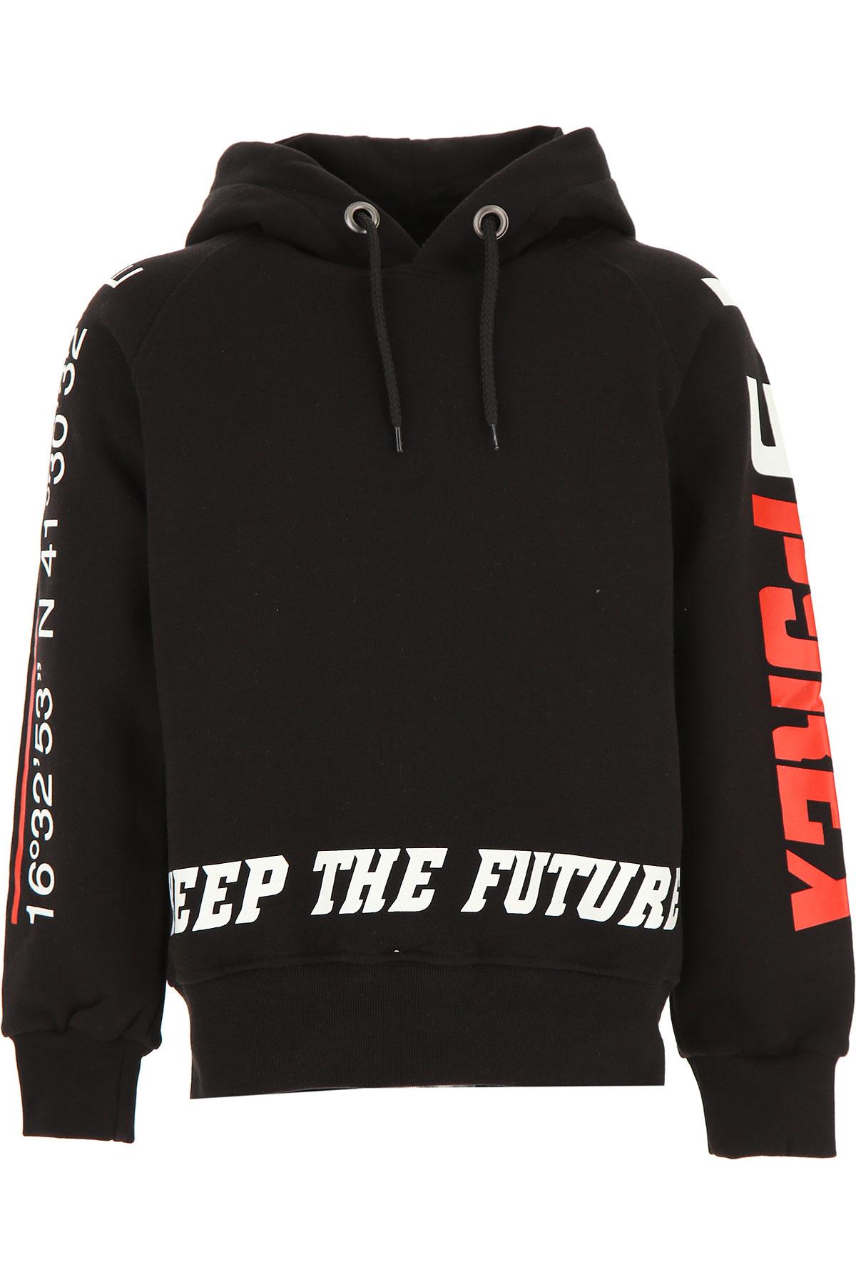 Pyrex Kids Sweatshirts & Hoodies for Boys On Sale, Black, Cotton, 2019, S XS XXL (16 Y)