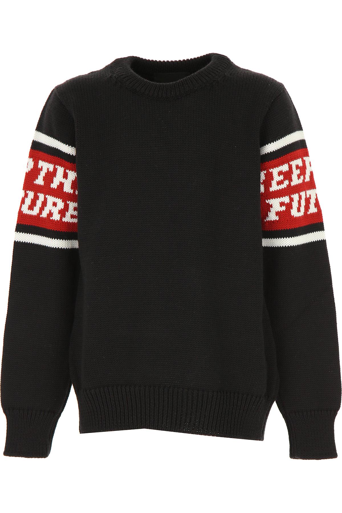Pyrex Kids Sweaters for Boys On Sale, Black, Wool, 2019, L M S XL XS XXL (16 Y)