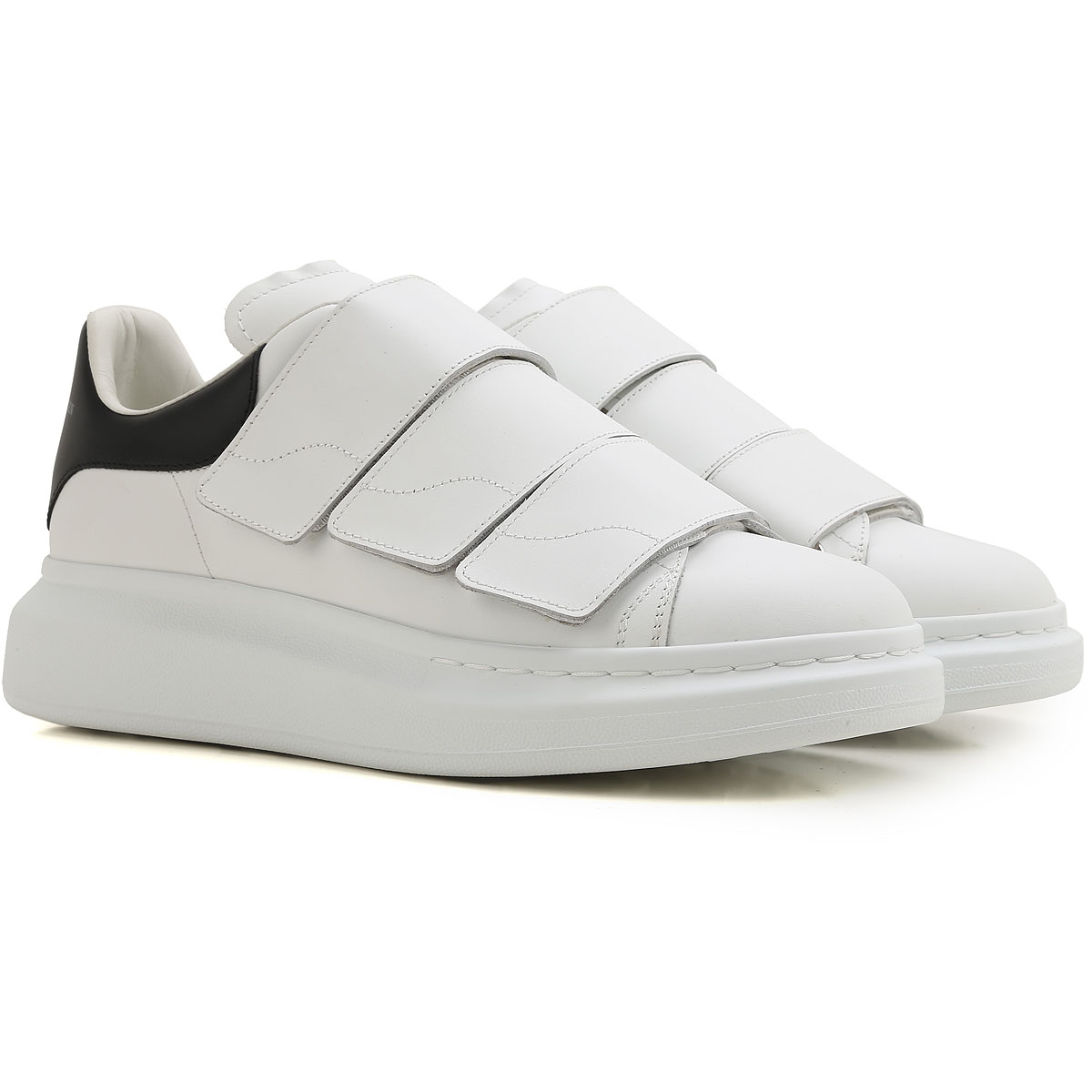 Image of Alexander Smith Sneakers for Men On Sale in Outlet, White, Leather, 2017, 7 7.5
