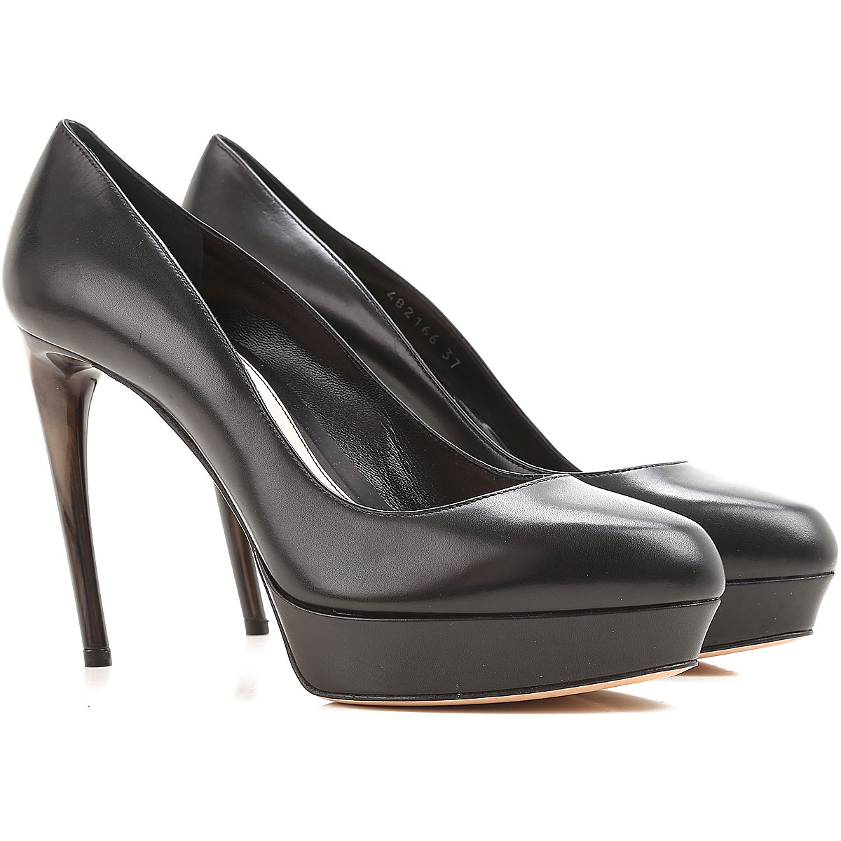 Image of Alexander McQueen Pumps & High Heels for Women On Sale in Outlet, Black, Leather, 2017, 10 5 6.5 7 8 8.5