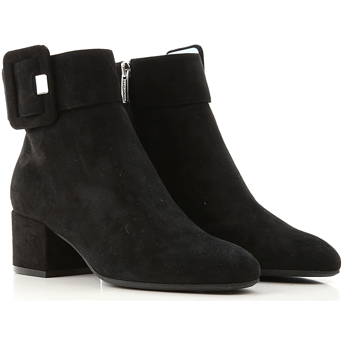 Sergio Rossi Boots for Women, Booties On Sale, Black, Suede leather, 2019, 10 11 6 7 8 9